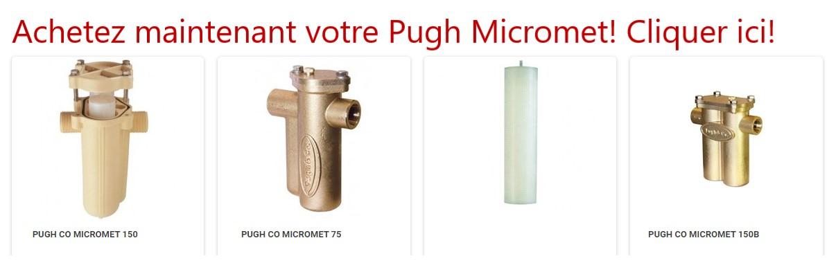 Pugh Micromet anticalcaire