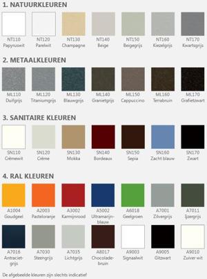 henrad kleuren