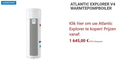 ATLANTIC EXPLORER WARMTEPOMPBOILER