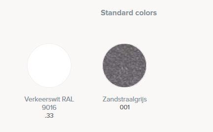 Standaard kleuren jaga sani louvre