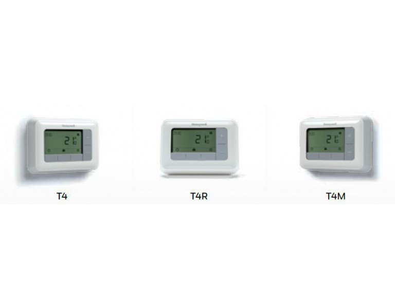T4 Honeywell programmeerbare thermostaat