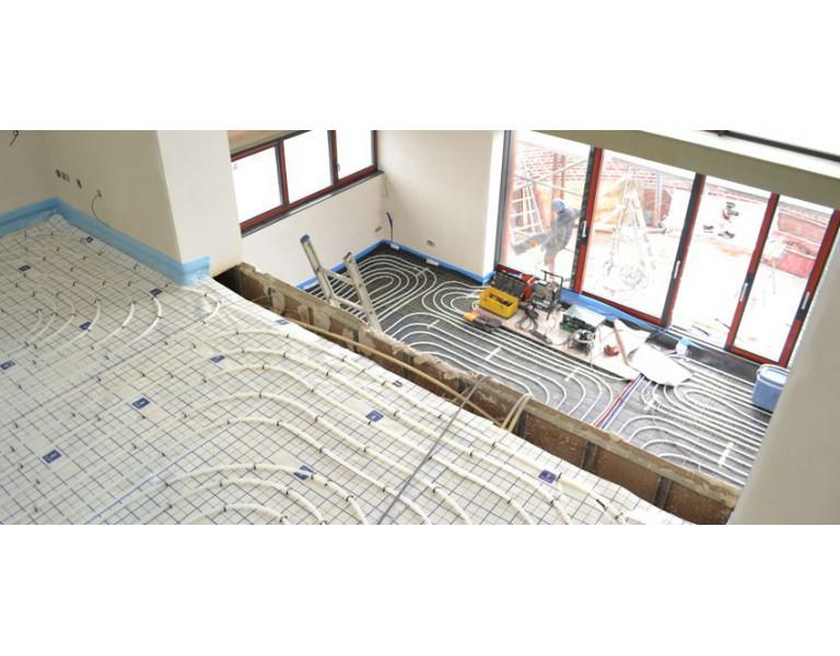 Vloerverwarming: nu ook de installatie bij Esanico