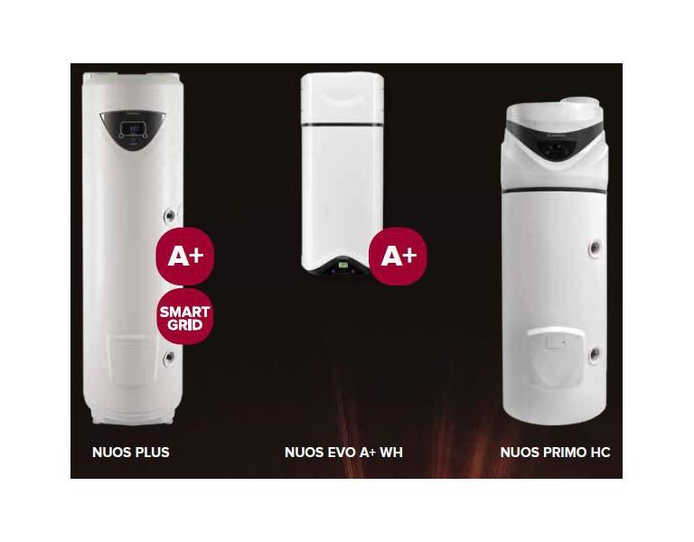 Ariston Nuos sanitaire warmtepompen